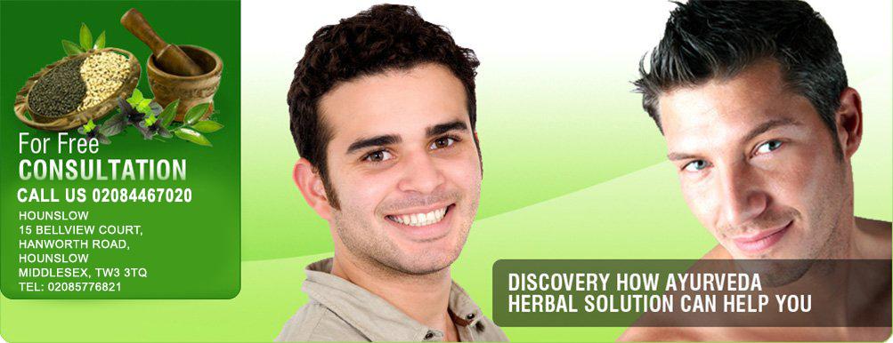 Natural Hair Loss Treatment London, Herbal Skin Care